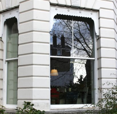 NW3 – Belsize Park, Hampstead Heath – Full Height Sash Windows