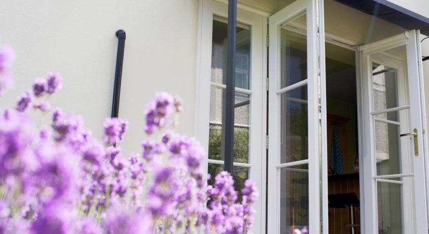 Bespoke timber French doors London