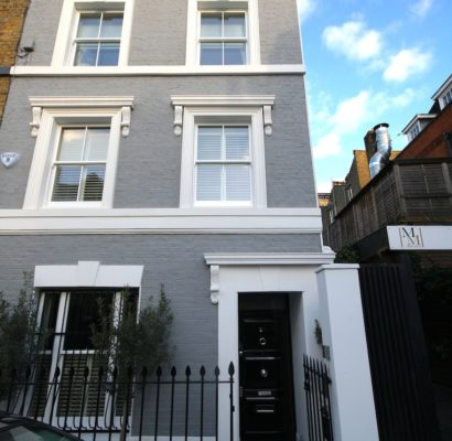 SW6 – Fulham – Timber Sash Windows in Terraced House