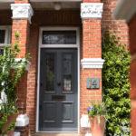 Hampstead Bespoke Timber Entry Door - NW3 – Hampstead – Bespoke Timber Entry Door - image 1