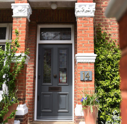 NW3 – Hampstead – Bespoke Timber Entry Door