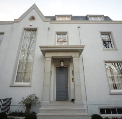 NW8 – St John's Wood – Bespoke Sash Windows & Garage Structure