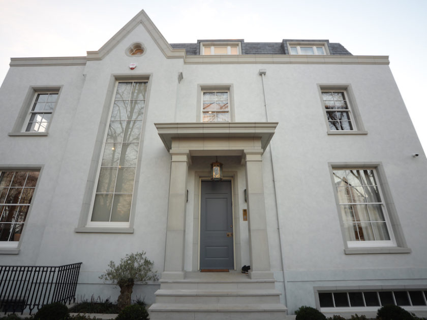 St John's Wood Timber Sash Windows - NW8 – St John's Wood – Bespoke Sash Windows & Garage Structure - image 1