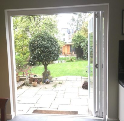 SE23 – Wood Vale – Patio Doors – Before and After