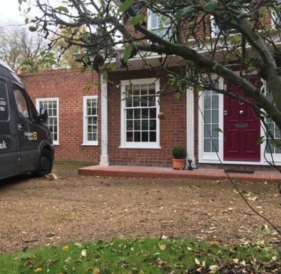 CR0 – Croydon – Timber Sash Windows and Bespoke Entry Door